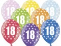 Balon 14' z nadrukiem  18, mix kolor